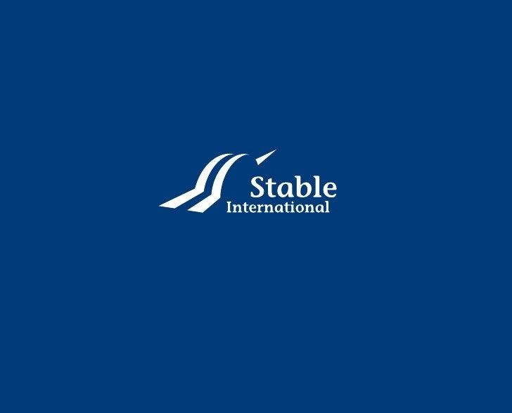RUIMTE Stable International ist ein                   KE  unabhängiger Projektentwickler.  LIJ  Mit unserem Team realisier...