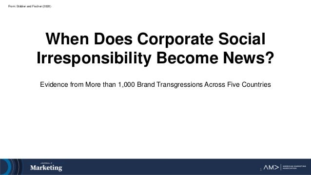 From: Stäbler and Fischer (2020) When Does Corporate Social Irresponsibility Become News? Evidence from More than 1,000 Br...