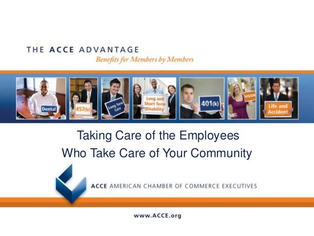 Taking Care of the EmployeesWho Take Care of Your Community
