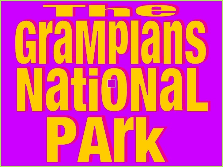 GraMpIanS The  NatiONaL PArk