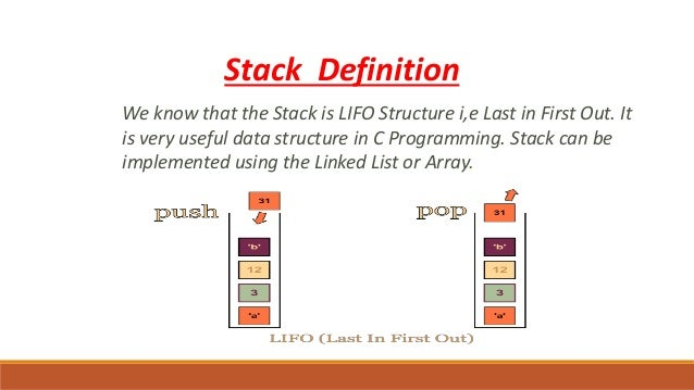 Stack Meaning