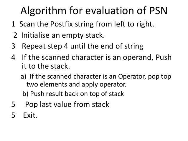 write a c program for evaluation of postfix expression