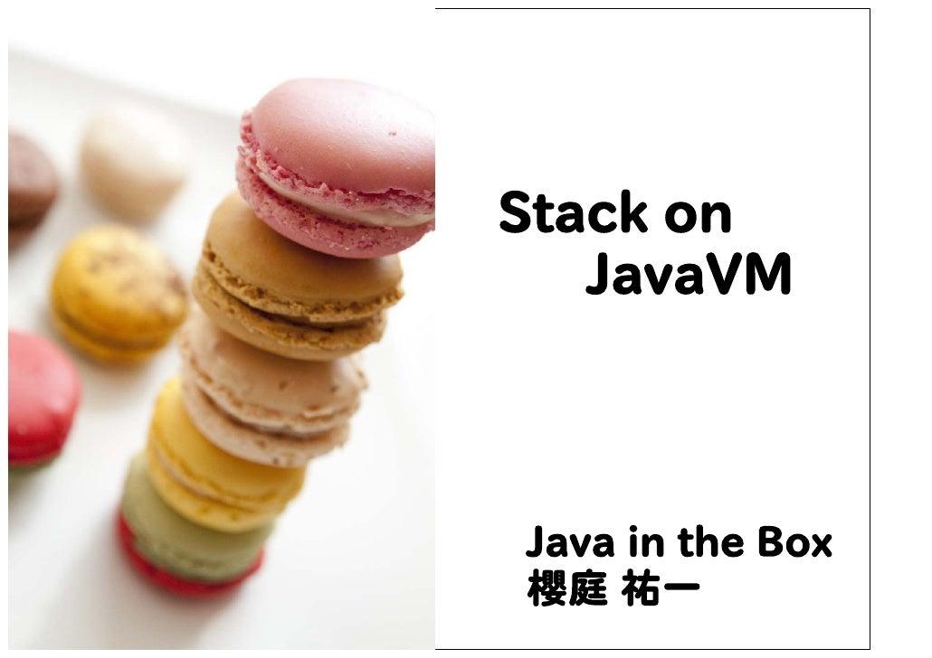 Stack on JavaVM