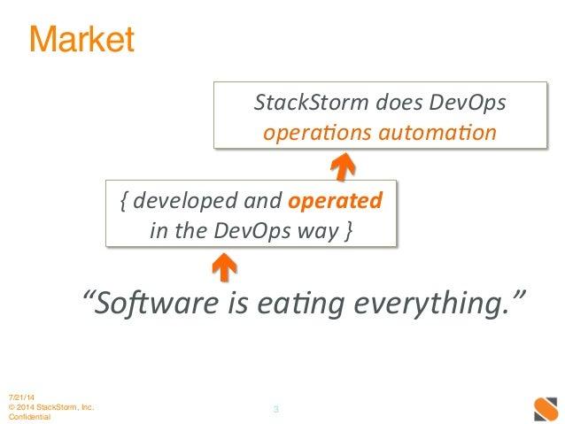 StackStorm DevOps Automation Webinar Slide 3