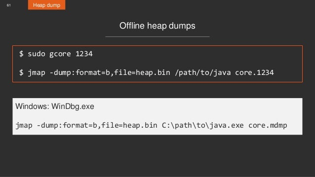 Everything you wanted to know about Stack Traces and Heap Dumps