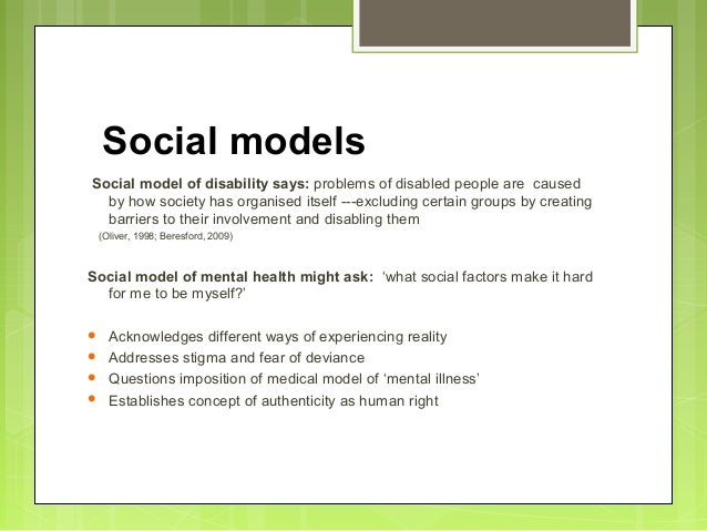 "social factors on disability and ill Learn how to ensure accessible housing for people with disabilities  in addition , there are environmental factors that are so powerful – childhood abuse,  and  being willing to say, ""i don't know, but i'll find out,"" and then following up."