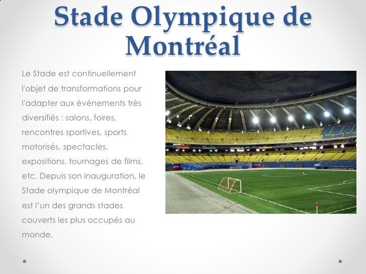 Stade olympique de montr al - Salon de l habitation montreal stade olympique ...