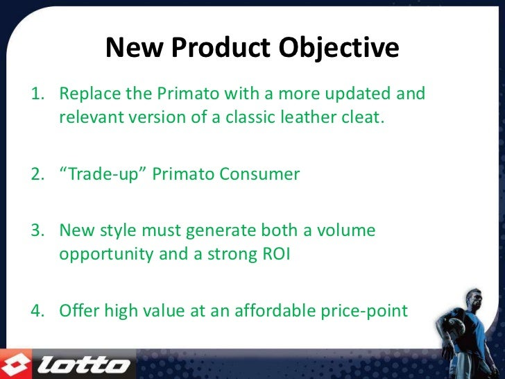 Stadio Primato K Product Positioning Strategy 2009 2010