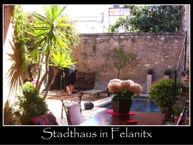 portada  Stadthaus in Felanitx
