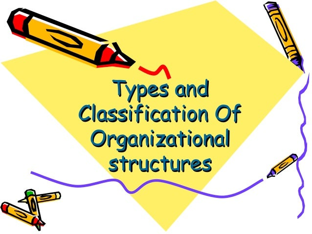Types andTypes andClassification OfClassification OfOrganizationalOrganizationalstructuresstructures
