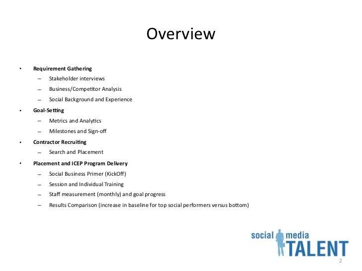 Social Media Talent Staffing Slide 2