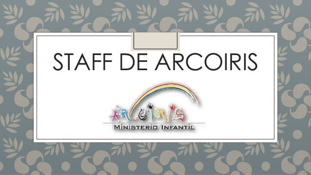 STAFF DE ARCOIRIS