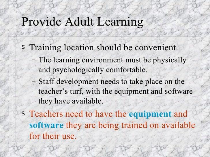 Dissertation on staff development