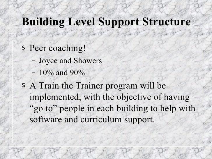 Staff Development Thesis