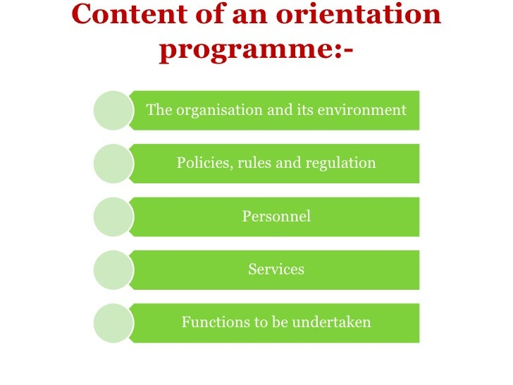 importance of induction and orientation Employee induction and orientation, the words are often used synonymously though they are different in meaning and application induction refers to the process of introducing a new comer to.