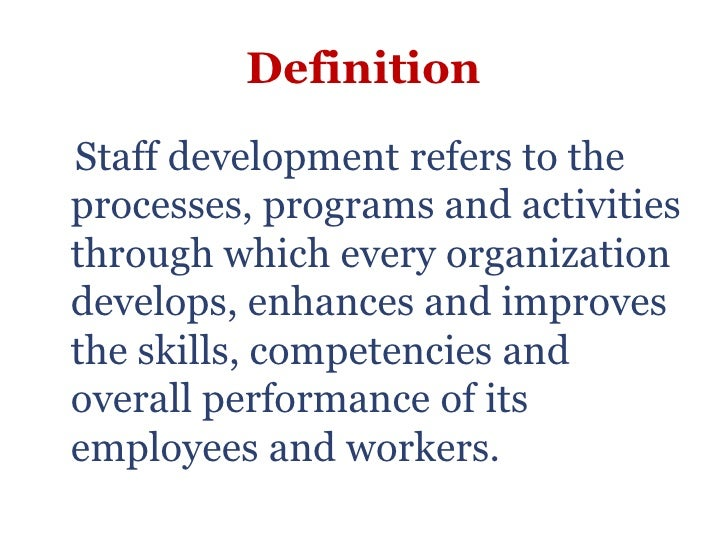 staff development teaching for However, as far as cpd (continuing professional development) goes, i have always been disheartened to see how some teachers are happy to go on much as.
