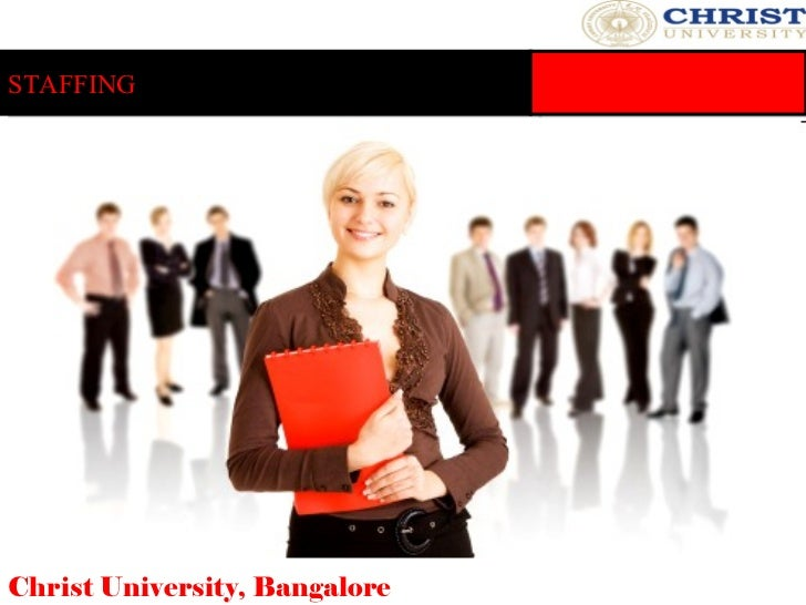 STAFFING Christ University, Bangalore