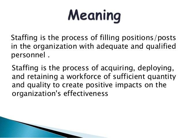 STAFFING DEFINITION PDF DOWNLOAD