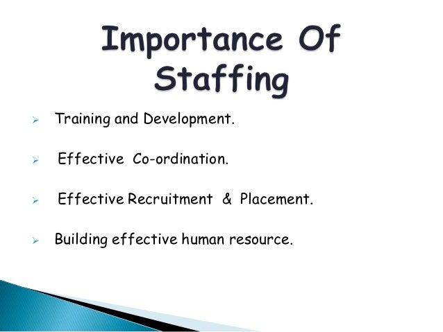 Staffing - Management