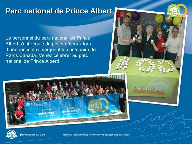 Parc national de Prince Albert Le personnel du parc national de Prince Albert s'est régalé de petits gâteaux lors d'une re...