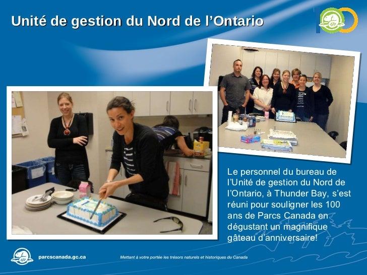 Unité de gestion du Nord de l'Ontario Le personnel du bureau de l'Unité de gestion du Nord de l'Ontario, à Thunder Bay, s'...