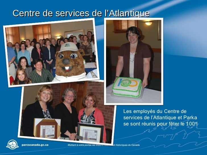 Centre de services de l'Atlantique Les employés du Centre de services de l'Atlantique et Parka se sont réunis pour fêter l...