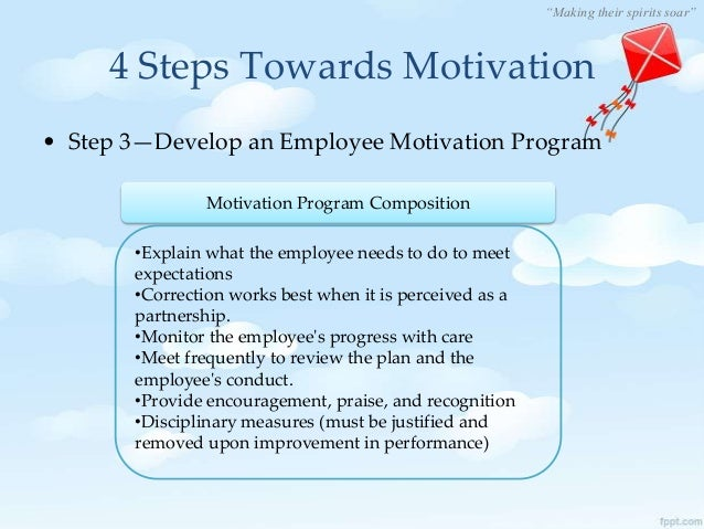 employee morale and motivation Definition of employee morale: description of the emotions motivation values job design recruitment human resource incentives in the workplace can be an effective way to increase employee morale, allowing the employees to feel appreciated, and thus, working harder.