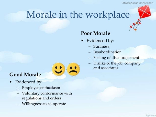 building a better workplace through motivation Some people have personal missions they accomplish through meaningful work  your best people to a better-paying employer  of their work inspires motivation: .