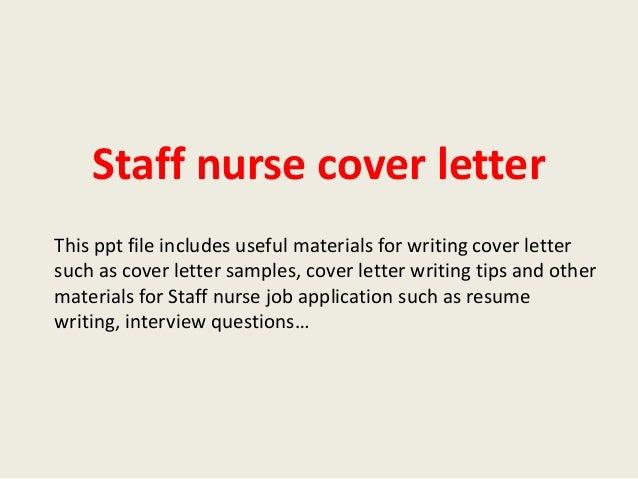 Nurses Cover Letter