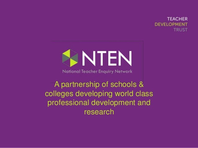A partnership of schools & colleges developing world class professional development and research