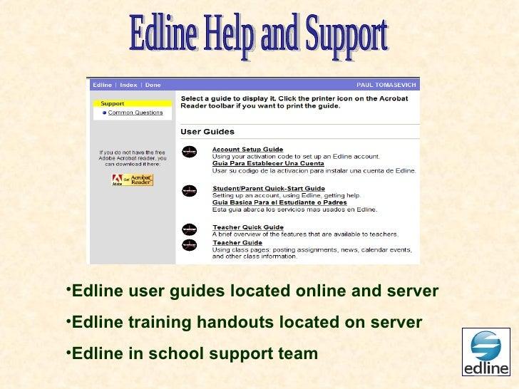 staff training edline session june rh slideshare net Edline School Websites Sunset Drawing