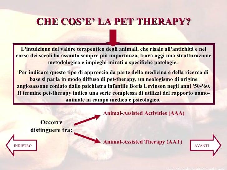 L'intuizione del valore terapeutico degli animali, che risale all'antichità e nel corso dei secoli ha assunto sempre più i...