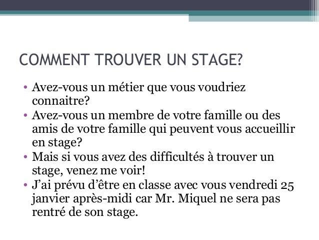 Stage 3eme