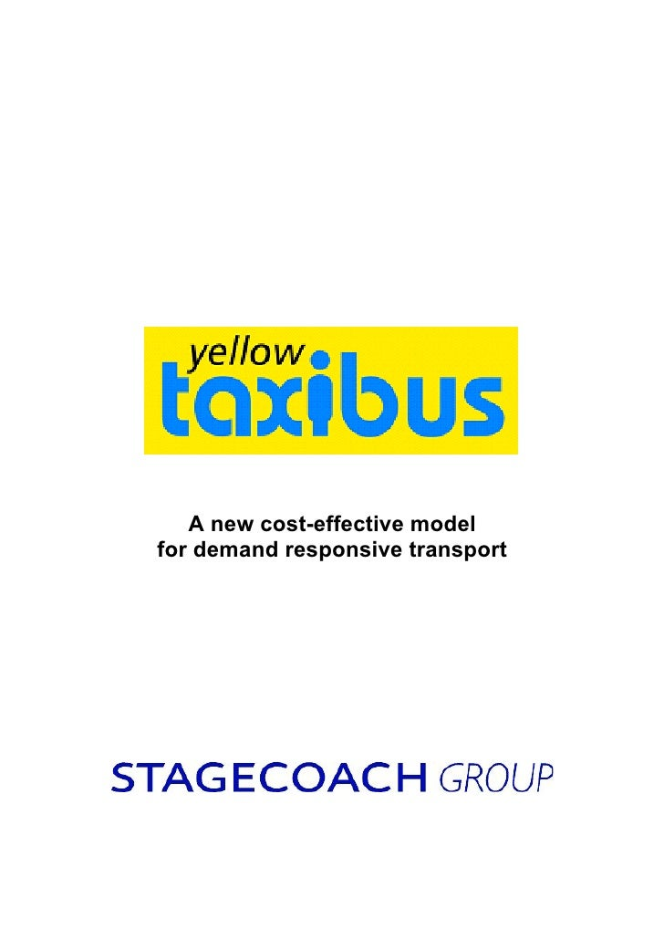 A new cost-effective modelfor demand responsive transport