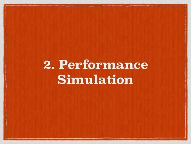 2. Performance Simulation