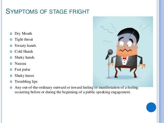 Stage fright strategies Slide 3