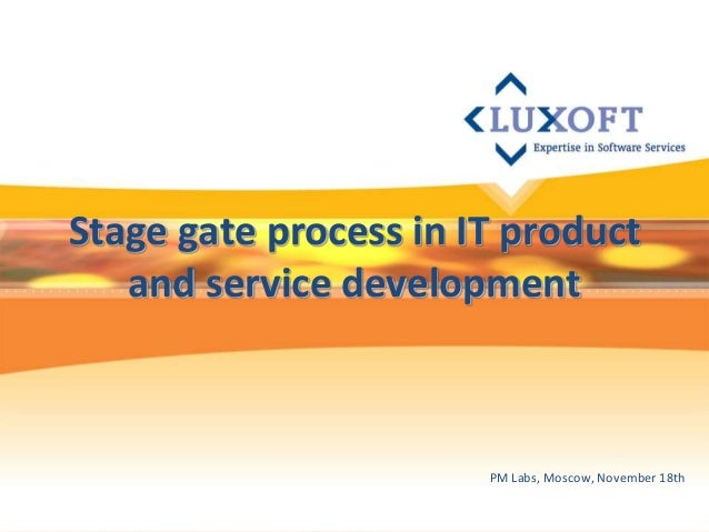 Stage gate process in it product development for Product design and development services