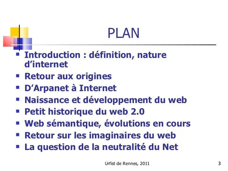 Histoire d'internet et du web : d'Arpanet au web sémantique Slide 3