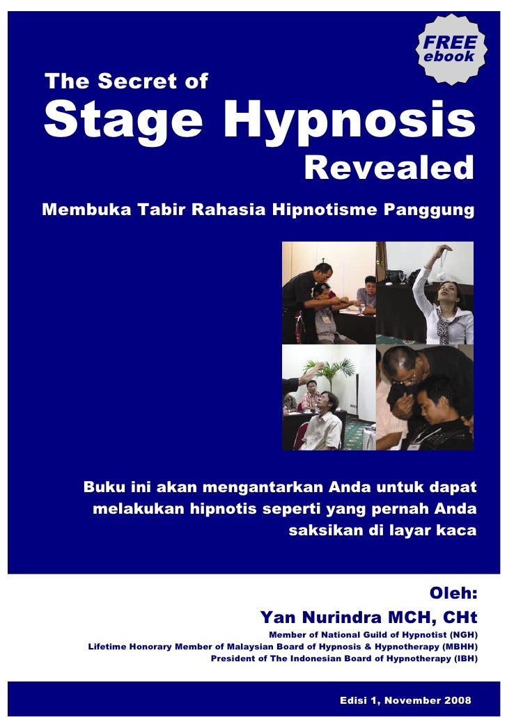 FREE                                                                         ebook The Secret of  Stage Hypnosis          ...