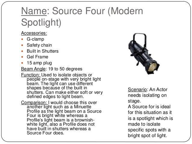 sc 1 st  SlideShare & Stage lighting powerpoint
