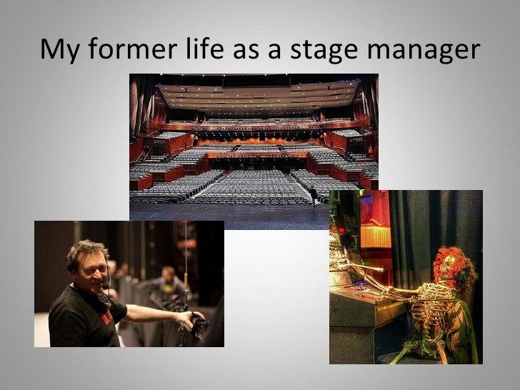 Andrea Johnson--Stage Management Slide 2