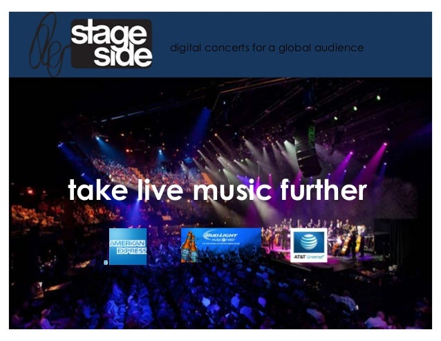 !!take live music further digital concerts for a global audience