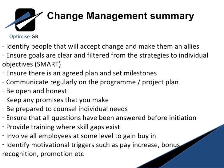 8 stages of change management  kotter
