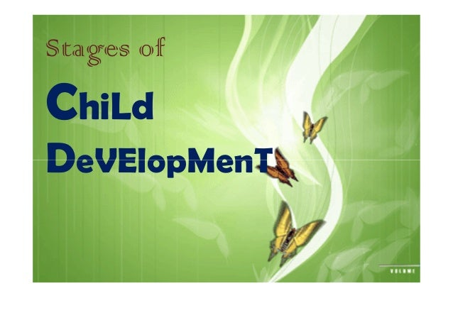 child development gradual change or series of stages In summary, developmental theory pursues four central themes: (1) the importance of nature versus nurture, (2) stages in development, (3) the existence of critical or sensitive periods, and (4) the impact of early experience.