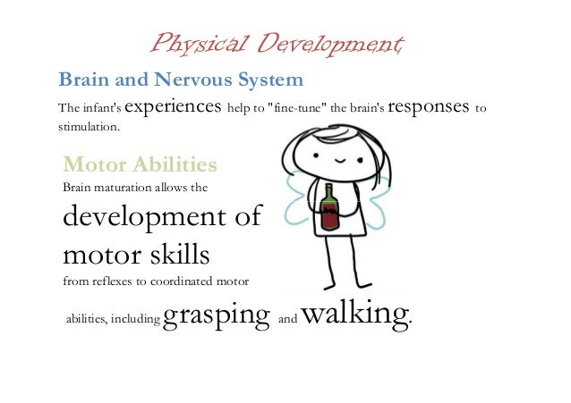 Motor maturation and development for Physical and motor development in early childhood