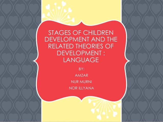 STAGES OF CHILDREN DEVELOPMENT AND THE RELATED THEORIES OF DEVELOPMENT : LANGUAGE BY: AMZAR NUR MURNI NOR ILLYANA