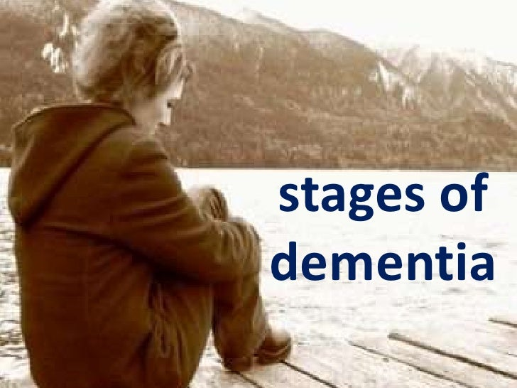 stages ofdementia