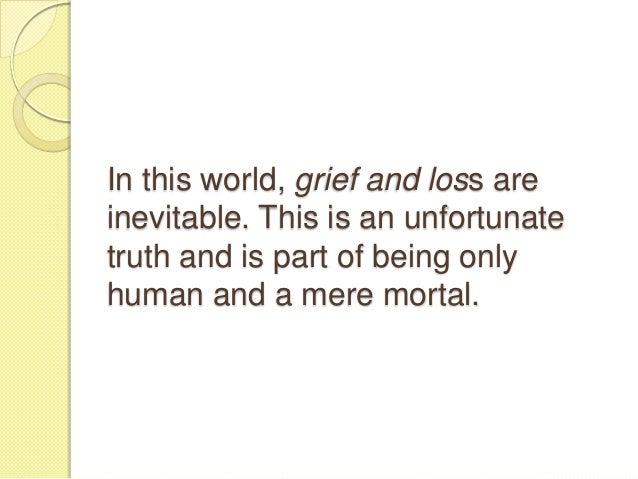 Stages of grief Slide 2