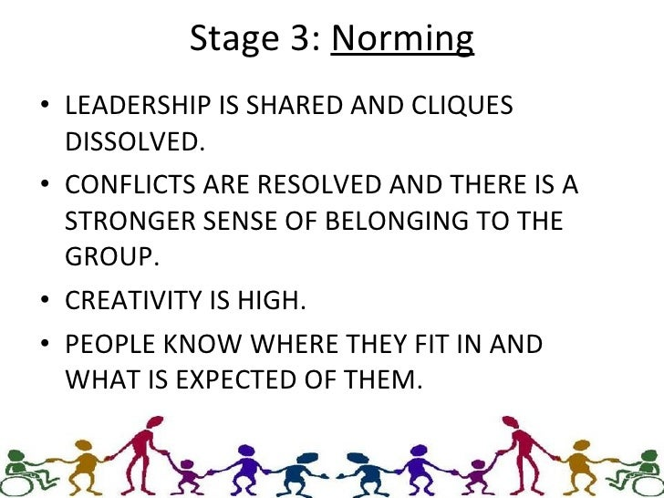 various stages of group developement The most commonly used framework for a team's stages of development was developed in  stages of team development you  related skills and group process and .