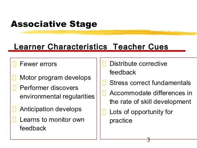 associative learner Abstract: the past 50 years have seen an accumulation of evidence suggesting  that associative learning depends on high-level cognitive processes that give.